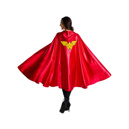 Halloween DC Comics Superheroes Adult Wonder Woman Deluxe Cape - Dc Comics Wonder Woman Costume