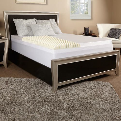 Luxury Solutions 4'' Memory Foam Mattress Topper
