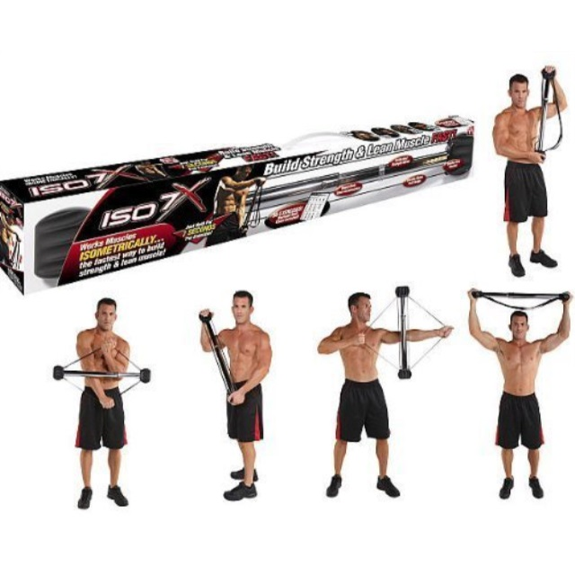 ISO 7X Muscle Body Building Workout Bar Isometric Gym Exercise As Seen On TV NEW