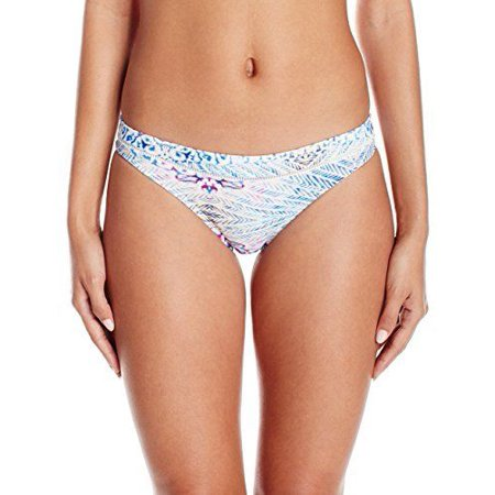 Roxy Women's Sneak Peak Surfer Bikini Bottom, Marshmallow Labana Aguila, SZ: S ()