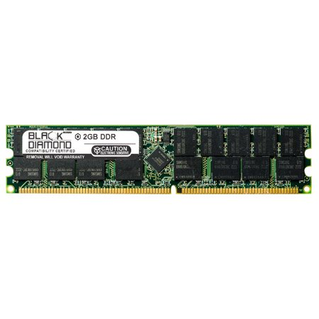 2GB RAM Memory for SuperMicro X6 Series X6DHP-iG (OEM) 184pin PC2700 DDR RDIMM 333MHz Black Diamond Memory Module Upgrade