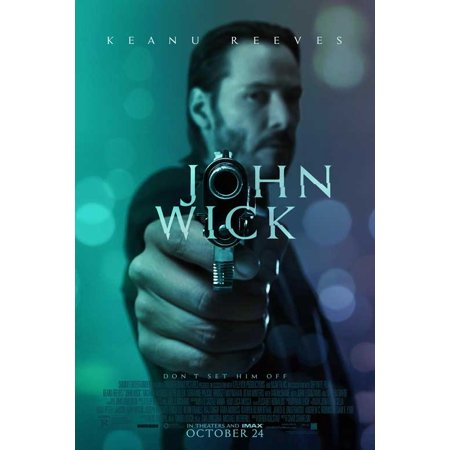 John Wick  2014  11X17 Movie Poster