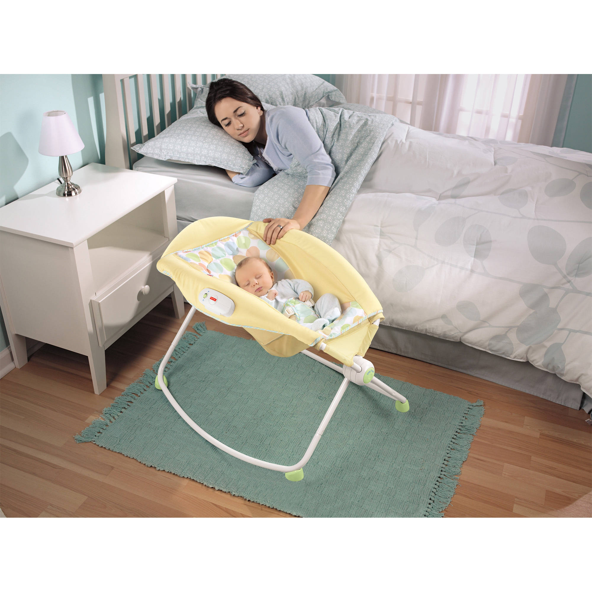 Fisher-Price Newborn Rock 'n Play Sleeper, Yellow ...