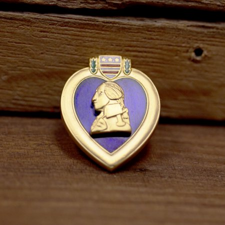 Purple Heart Lapel Pin – Small
