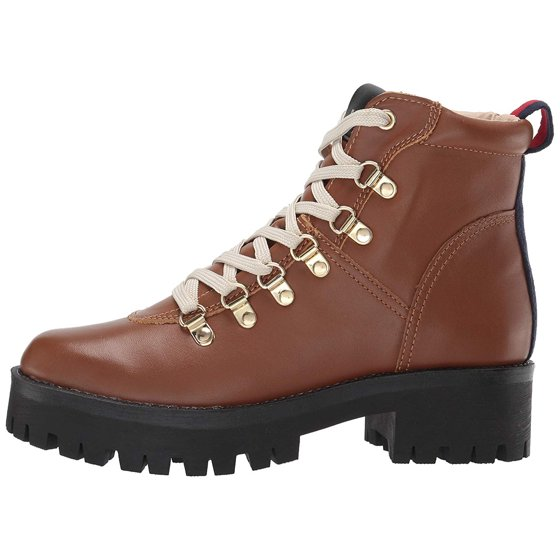 8b002946db7 The Steve Madden Bam Hiker Boot is a chunky bootie with a lug sole and  on-trend varsity stripe detail. Platform Lug sole. Women s Steve Madden Bam  Hiker ...