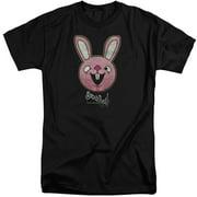 Sucker Punch Pink Bunny Mens Big and Tall Shirt