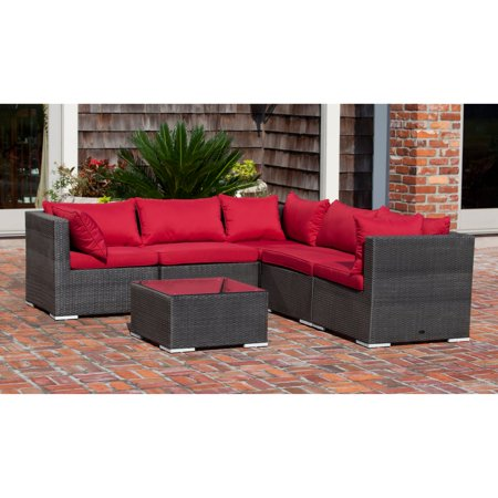 Patio Sense Sino Wicker Sofa Set