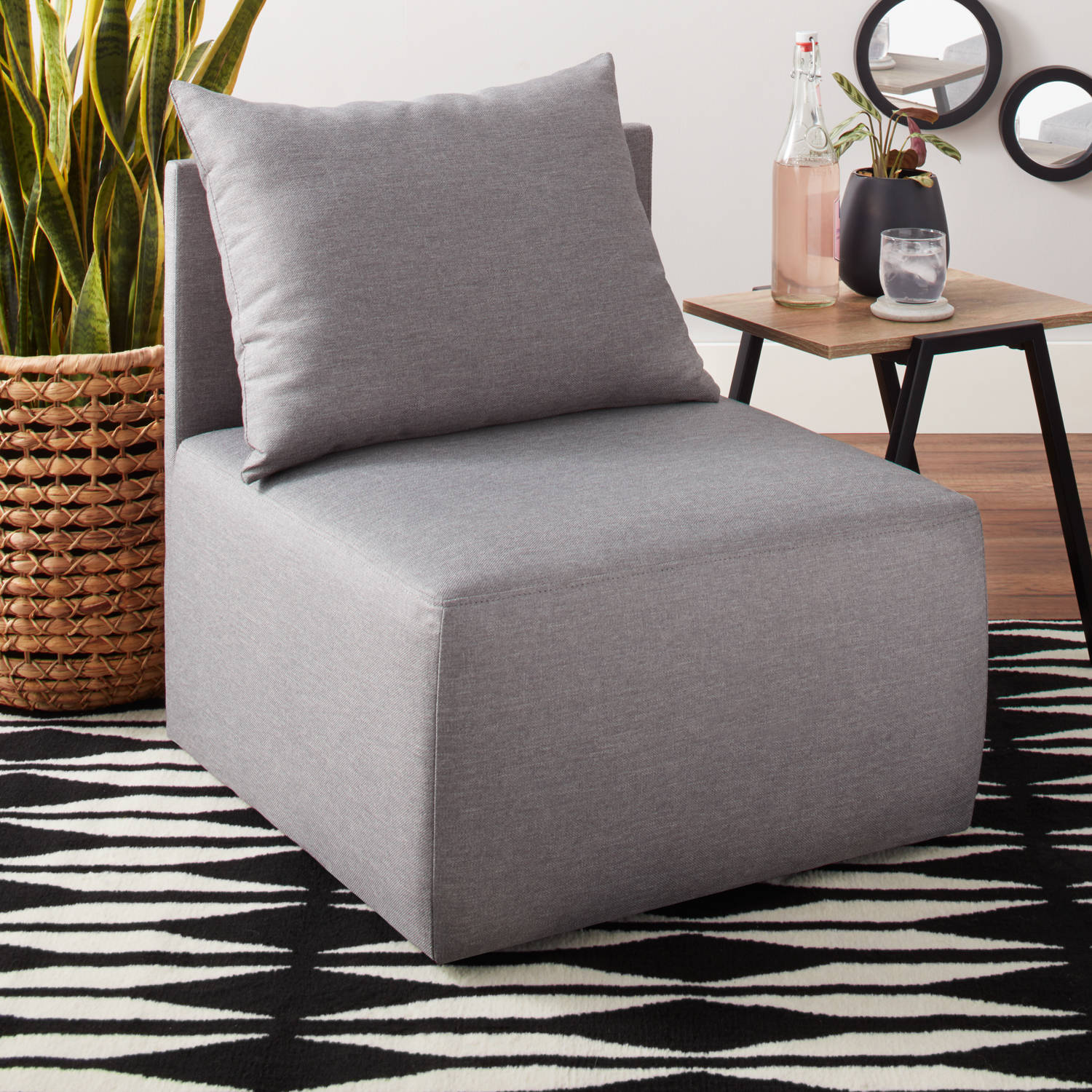 Mainstays Modular Single Lounge Chair