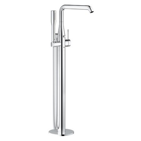 Grohe Essence Single Handle Floor Mounted Tub Filler Trim with Shower