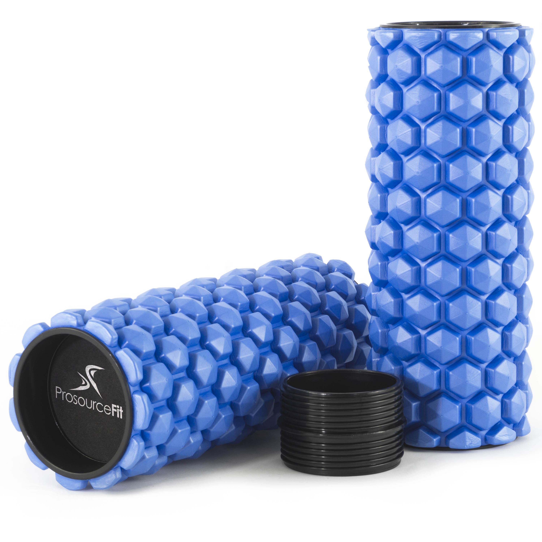 ProsourceFit Premium HEXA 2,in,1 Sports Massage Trigger Point Foam Roller , Multiple Colors