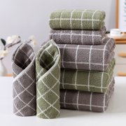 1PCS Soft 100% Cotton Towel Bath towel, Care Hand Cloth, Beach Towels Super Absorbent, Soft Skin Friendly, Suitable for Home, Outdoor and Travel Use, (Three Size, Two Color)