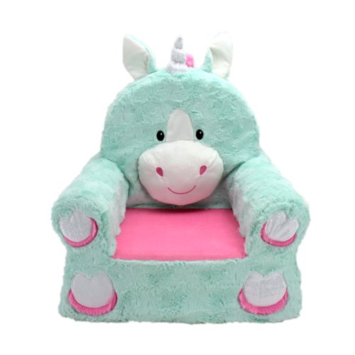 Zoomie Kids Ondine Sweet Seat Fantasy Unicorn Chair