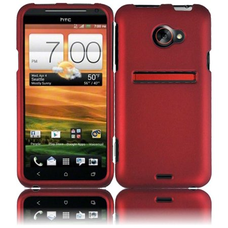 Hard Rubberized Case for Evo 4G LTE - (Evo Rod)