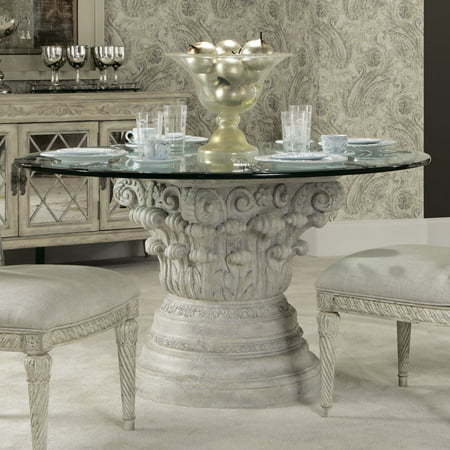 American Drew Jessica Mcclintock Boutique Round Gl Dining Table