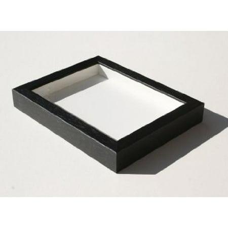 Shadowbox Gallery Wood Frames - Black, 14 x 18