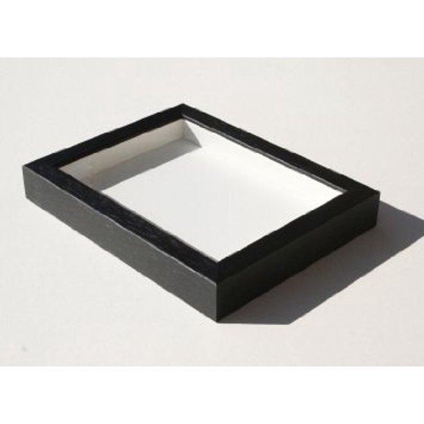 Shadowbox Gallery Wood Frames Black 14 X 18 Walmart Com Walmart Com