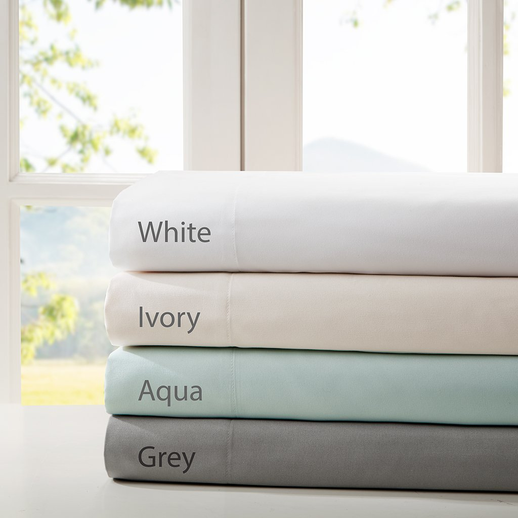 Smart Cool Microfiber Sheet Set Ivory Twin, Is your bed t...