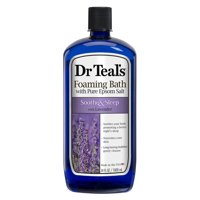 Dr Teal's Lavender Soothe & Sleep Foaming Bath with Pure Epsom Salt, 34 fl. oz.