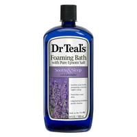Dr Teal's Lavender Soothe & Sleep Foaming Bath with Pure Epsom Salt, 34 fl. oz.