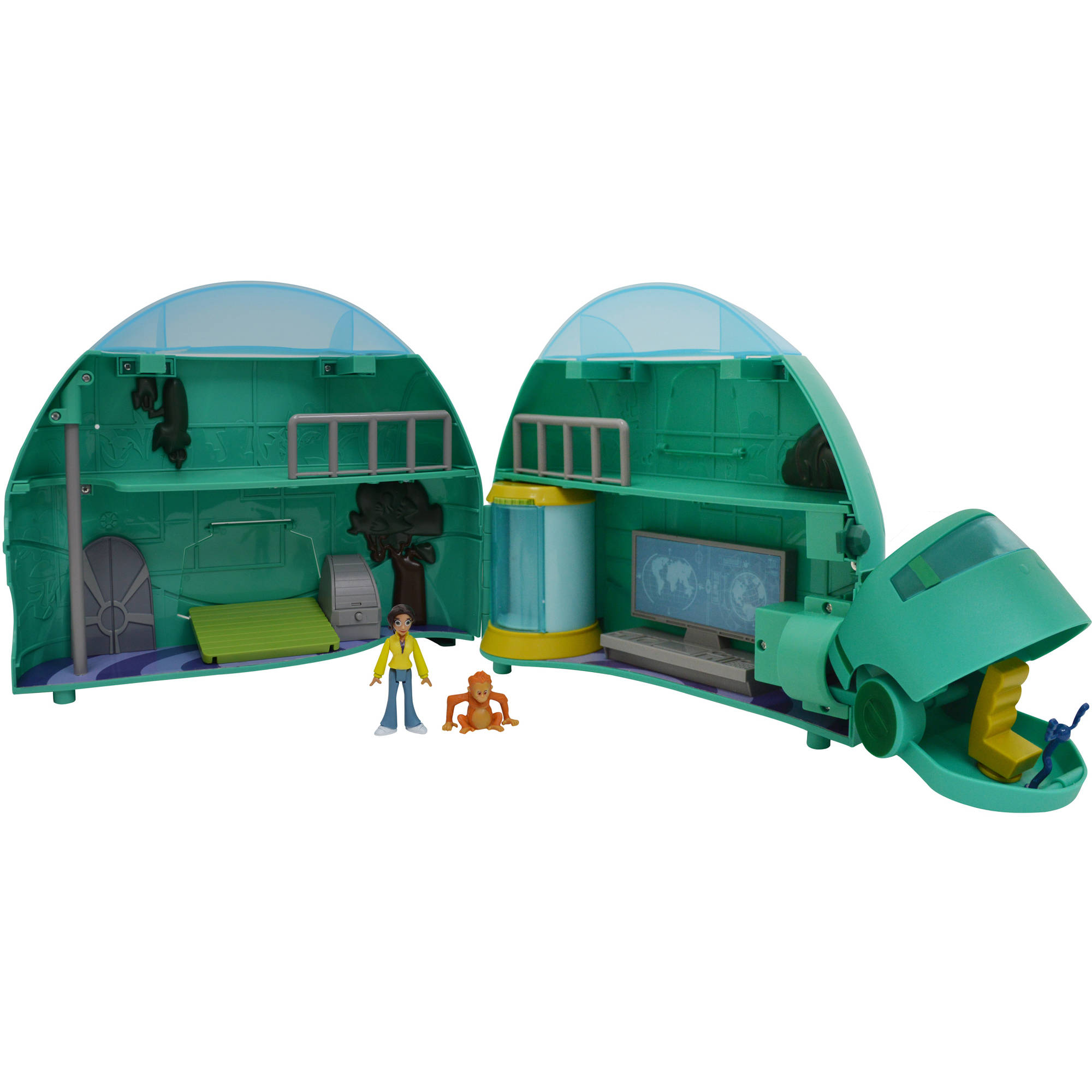 Wicked Cool Toys Wild Kratts Tortuga Play Set