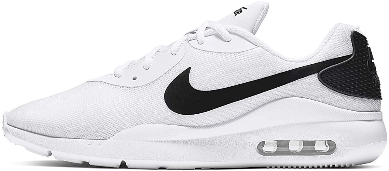 Nike Air Max Oketo Sneaker, White/Black