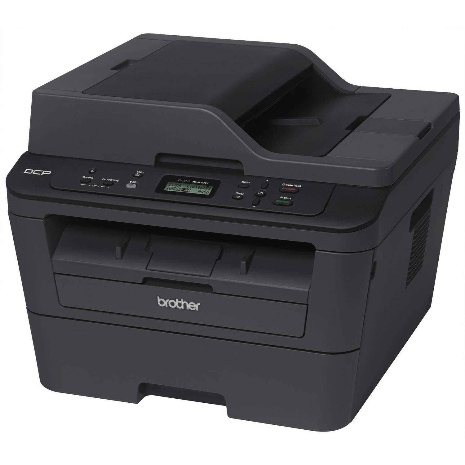 Refurbished Brother DCPL2540DW Mono Laser Printer/Copier/Scanner Machine with Duplex and Wireless