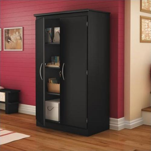 Storage Cabinet-Finish:Pure Black