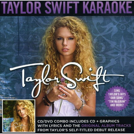 Taylor Swift - Karaoke (CD) (Includes DVD) (Taylor Swift In Teardrops On My Guitar)