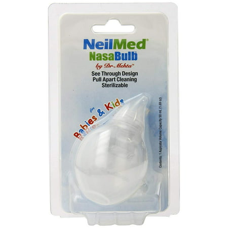 Nasabulb Nose Aspirator, 0.1 Pound, Soft silicone tip and bulb By