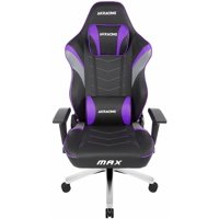 AKRacing Masters Series Max Gaming Chair with Wide Flat Seat Indigo