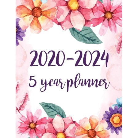 2020-2024 5 year planner: Monthly Schedule Organizer Planner For To Do List Academic Schedule Agenda Logbook Or Student Teacher Organizer Journa