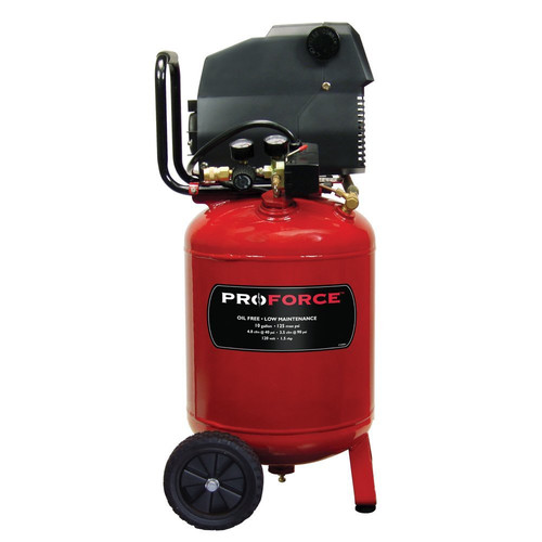 ProForce VLF1581019 10 Gallon Portable Air Compressor