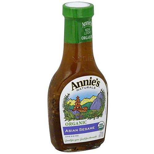 Annie's Naturals Asian Sesame Dressing, 8 oz (Pack of 6)
