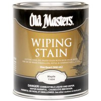Old Masters 11616 0.5 Pint. Maple Wiping Stain, 240 Voc
