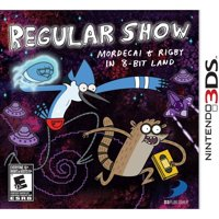 D3Publisher Regular Show: Mordecai and Rigby in 8-Bit Land (Nintendo 3DS)