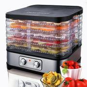 Best Meat Dehydrators - 2021 Food Dehydrator Machine 5 Trays Professional Electric Review