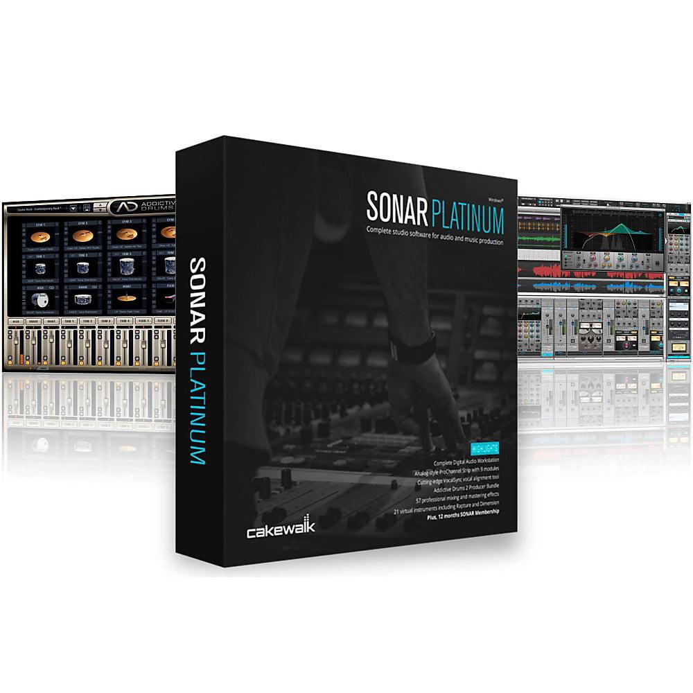 Cakewalk Sonar Platinum EDU Lab Pack 5 User   Digital Audio Workstation by