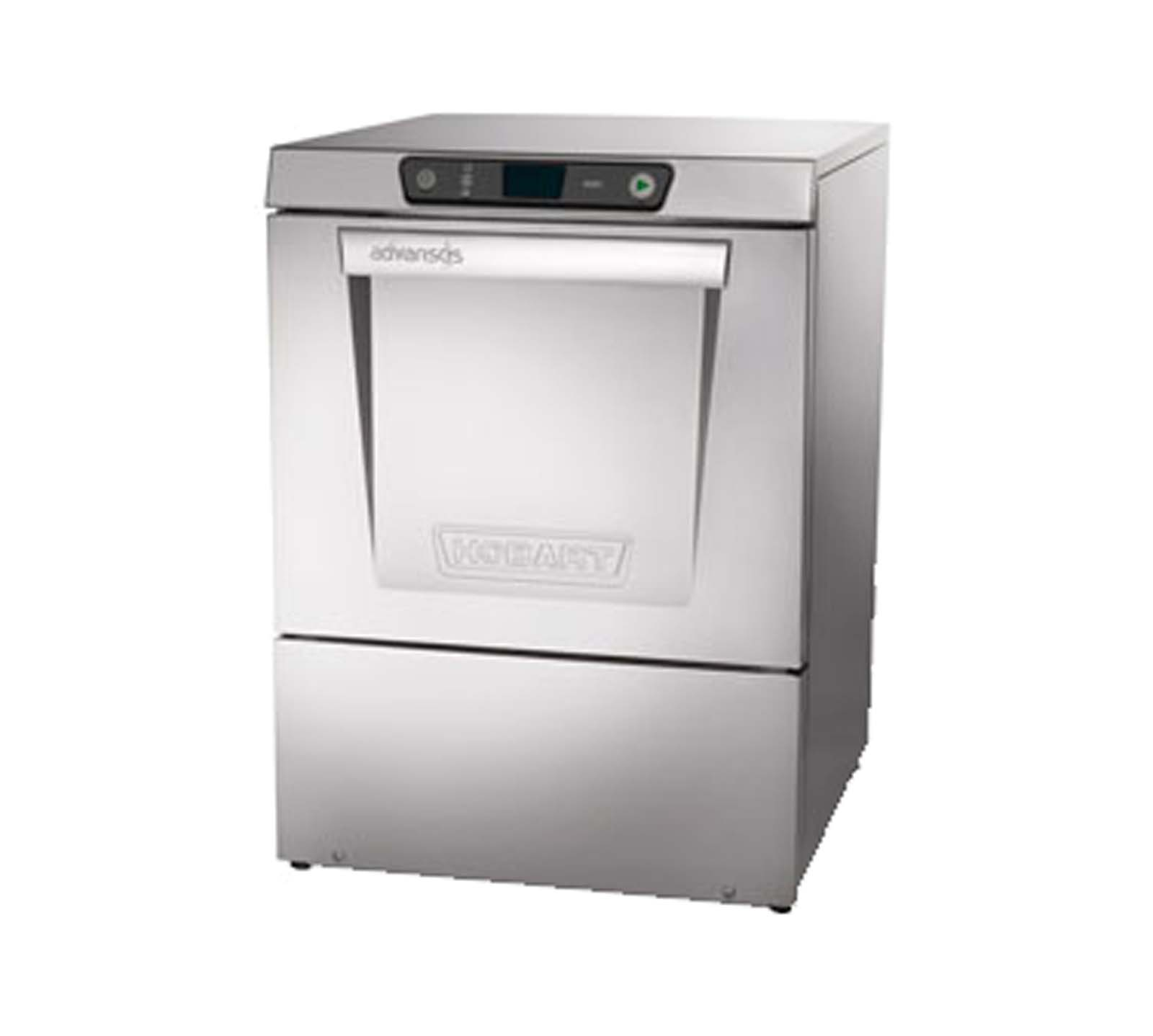 Hobart LXER-2 Advansys Undercounter Dishwasher with Booster Heater Hot Water Sanitizing by