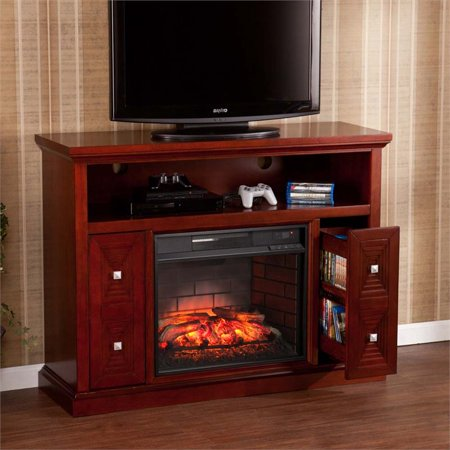 Southern Enterprises Creston Infrared Electric Fireplace Tv Stand