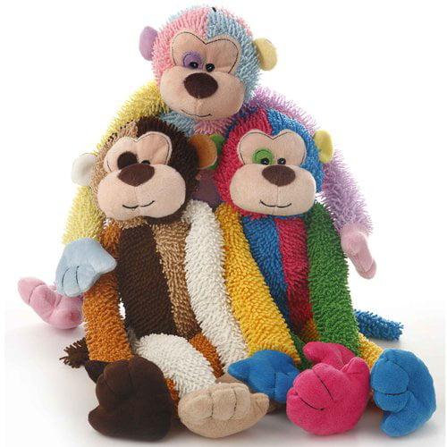 Walmart Plush Multicrew Monkey Dog Toy
