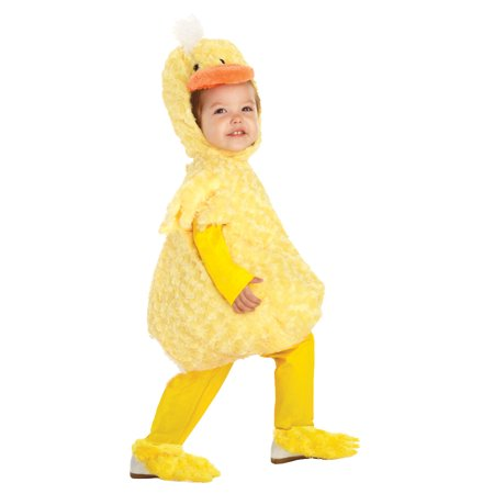 Plush Yellow Duck Toddler Costume 2T-4T