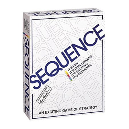 Sequence Game, Play a card from your hand, and place a chip on a corresponding space on the game board - when you have five in a row, it's a.., By Express