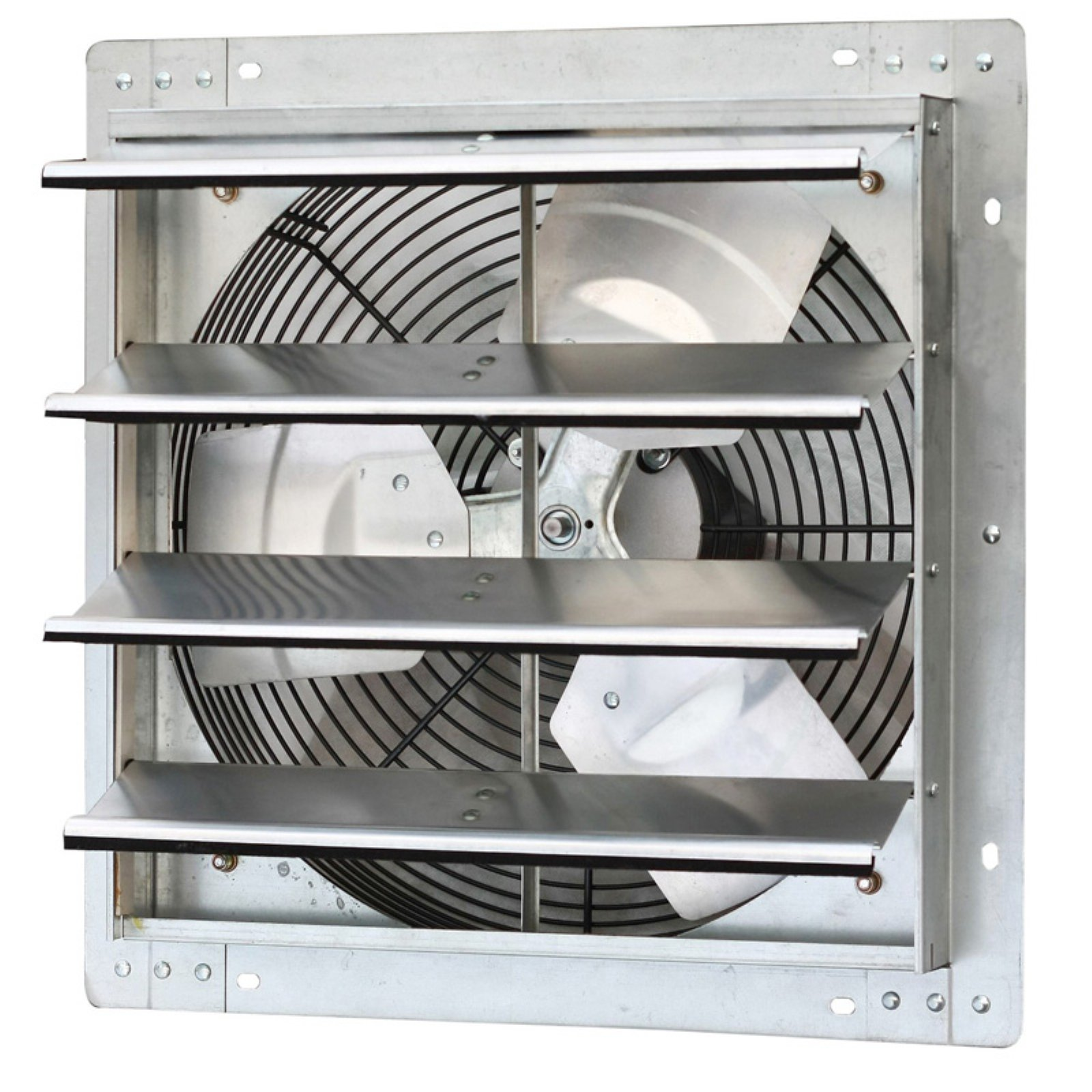 "iLIVING 16"" Variable Speed Shutter Exhaust Fan, Wall-Mounted"