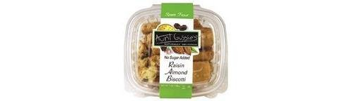 Aunt Gussies Biscotti Sf Spelt Raisin 8 OZ (Pack of 8) by Aunt Gussie'S