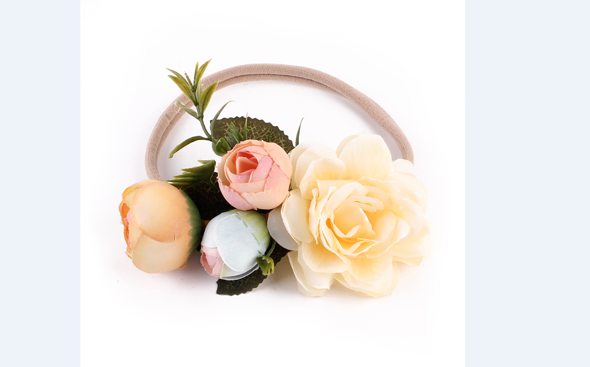 Newborn Toddler Baby Girl Headband Headwear Floral Hair Band Accessories