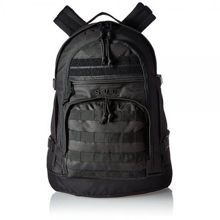 Sandpiper of California Three Day Pass Backpack (Black, 20x14.5x8.5-Inch)