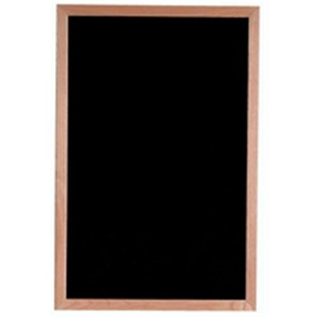 Aarco Products AOFD3624 Face Wood and Felt Changeable Letter Board