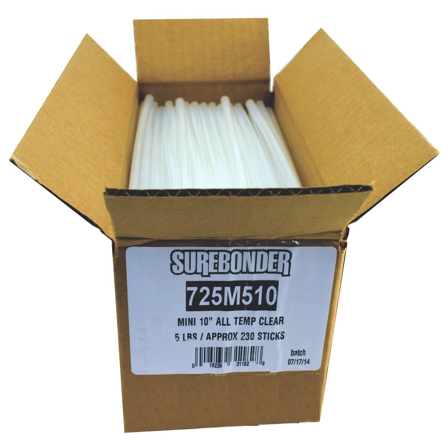 Surebonder 725M510 Mini All Temperature Hot Melt Glue Sticks, 10-Inch 5-lbs