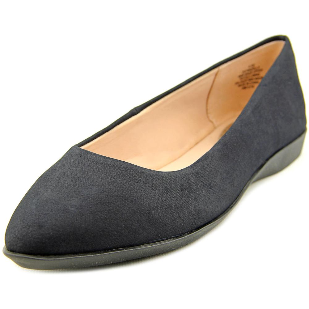 Easy Spirit e360 Madella Women W Pointed Toe Synthetic Flats by Easy Spirit e360
