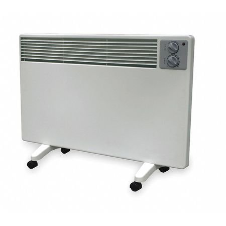 Dayton 1500/1000/500W Electric Flat Panel Heater, Radiant, 120V, 2HAE2